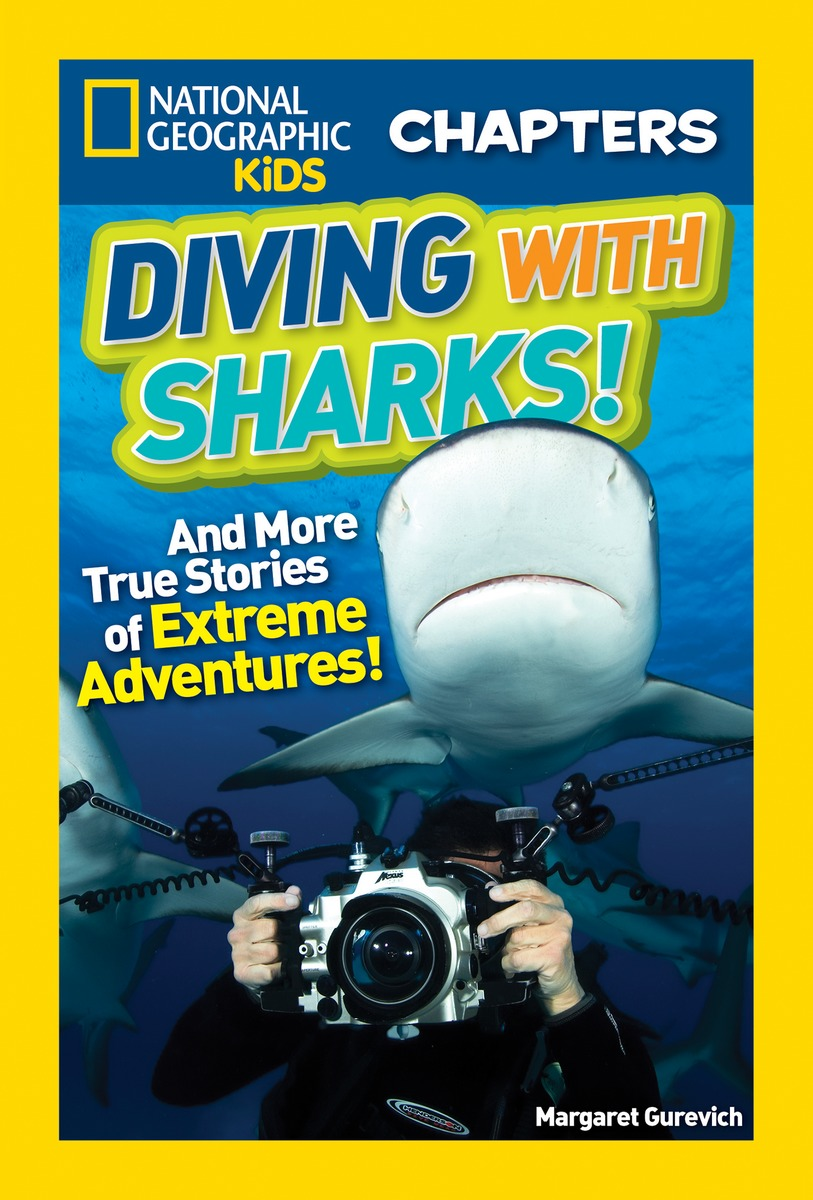 National Geographic Kids Chapters: Diving with Sharks