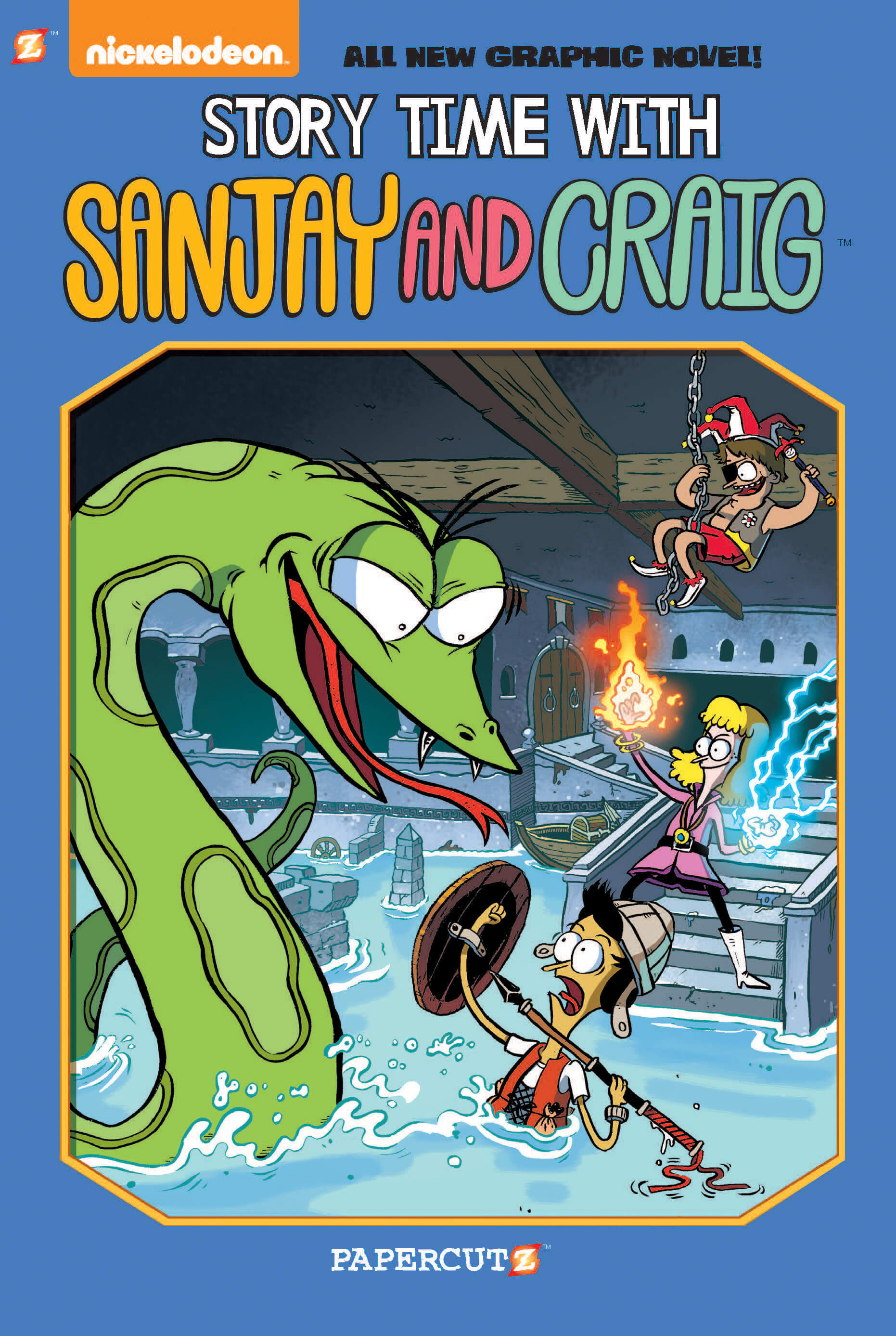 """Sanjay and Craig #3: """"Story Time with Sanjay"""""""