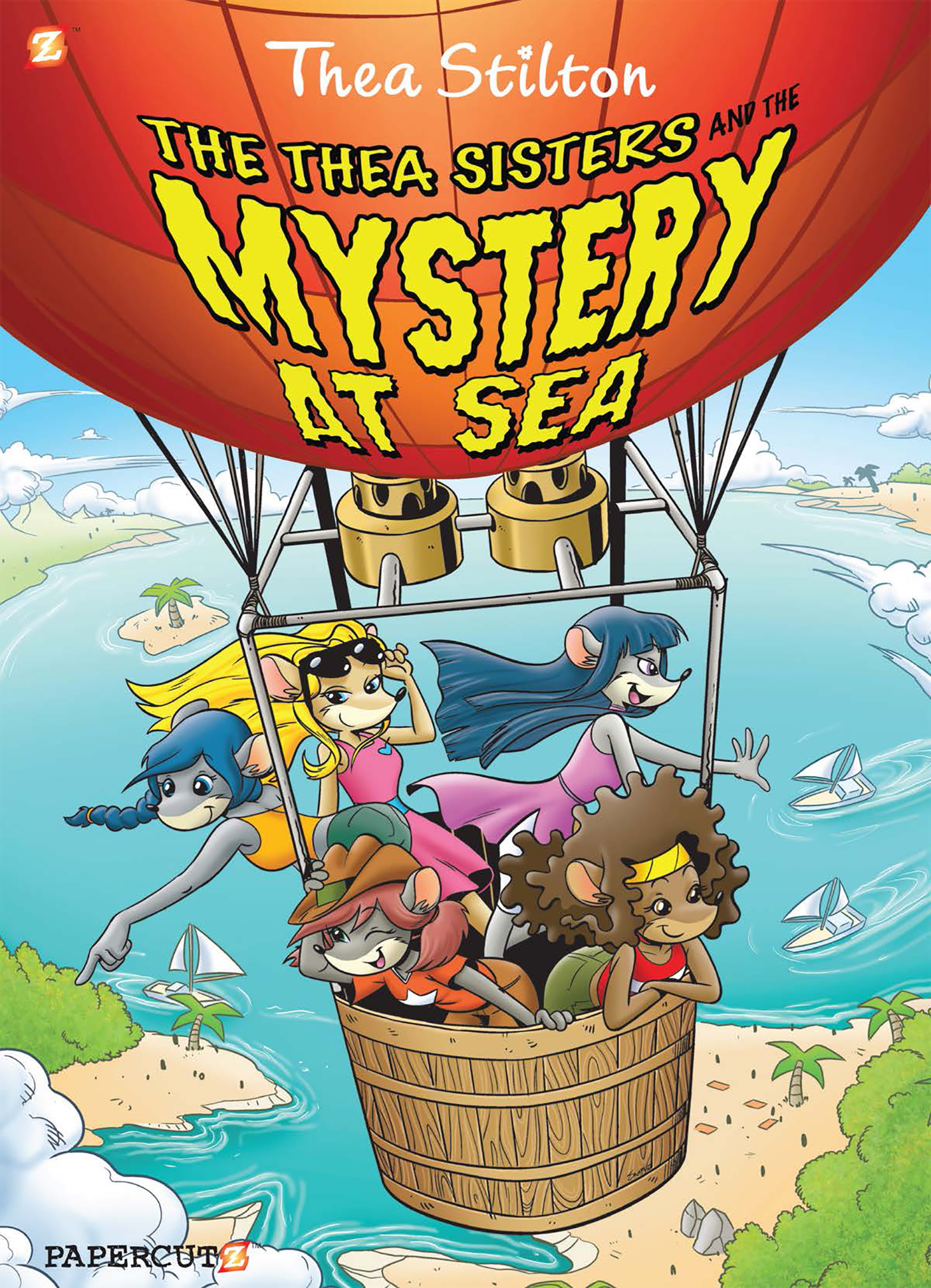 """Thea Stilton #6: """"The Thea Sisters and the Mystery at Sea"""""""