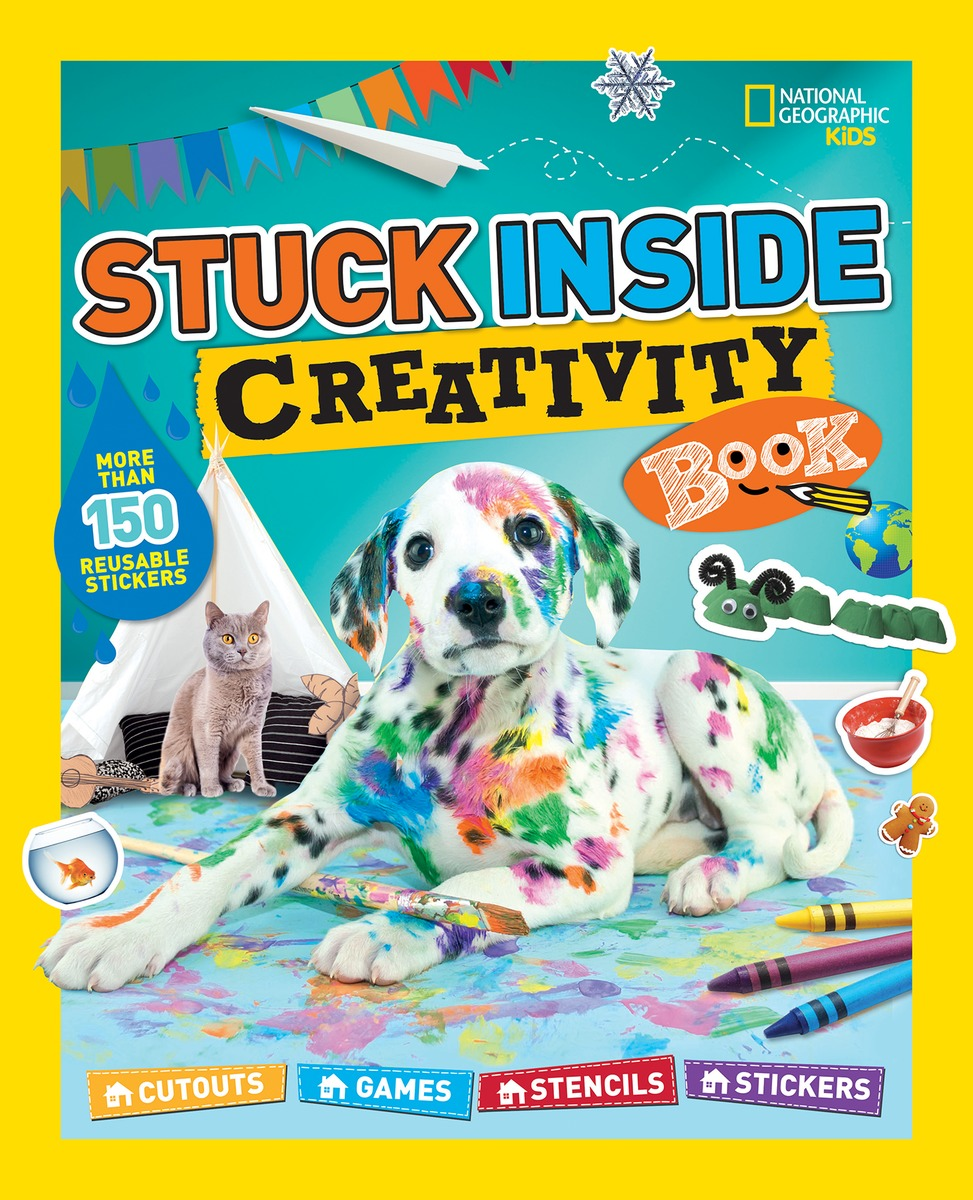 Stuck-Inside Creativity Book
