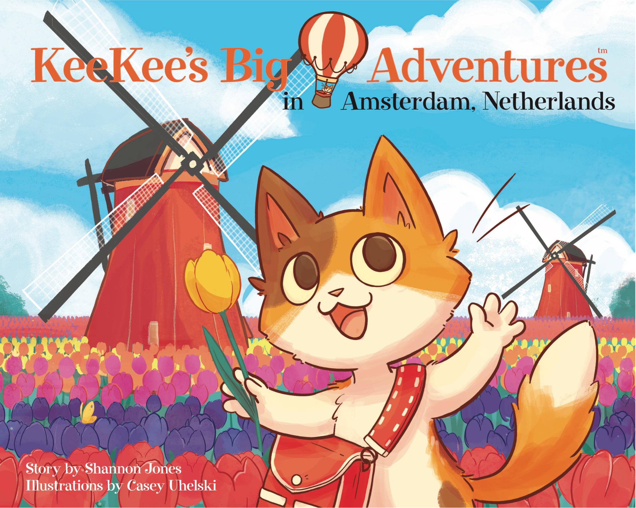 KeeKee's Big Adventures in Amsterdam, Netherlands