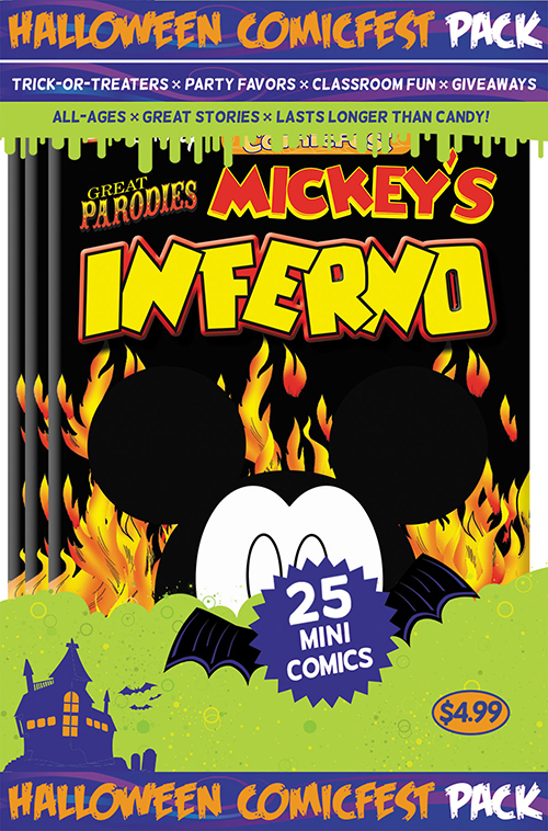 "Disney Graphic Novels Great Parodies: ""Mickey's Inferno"""