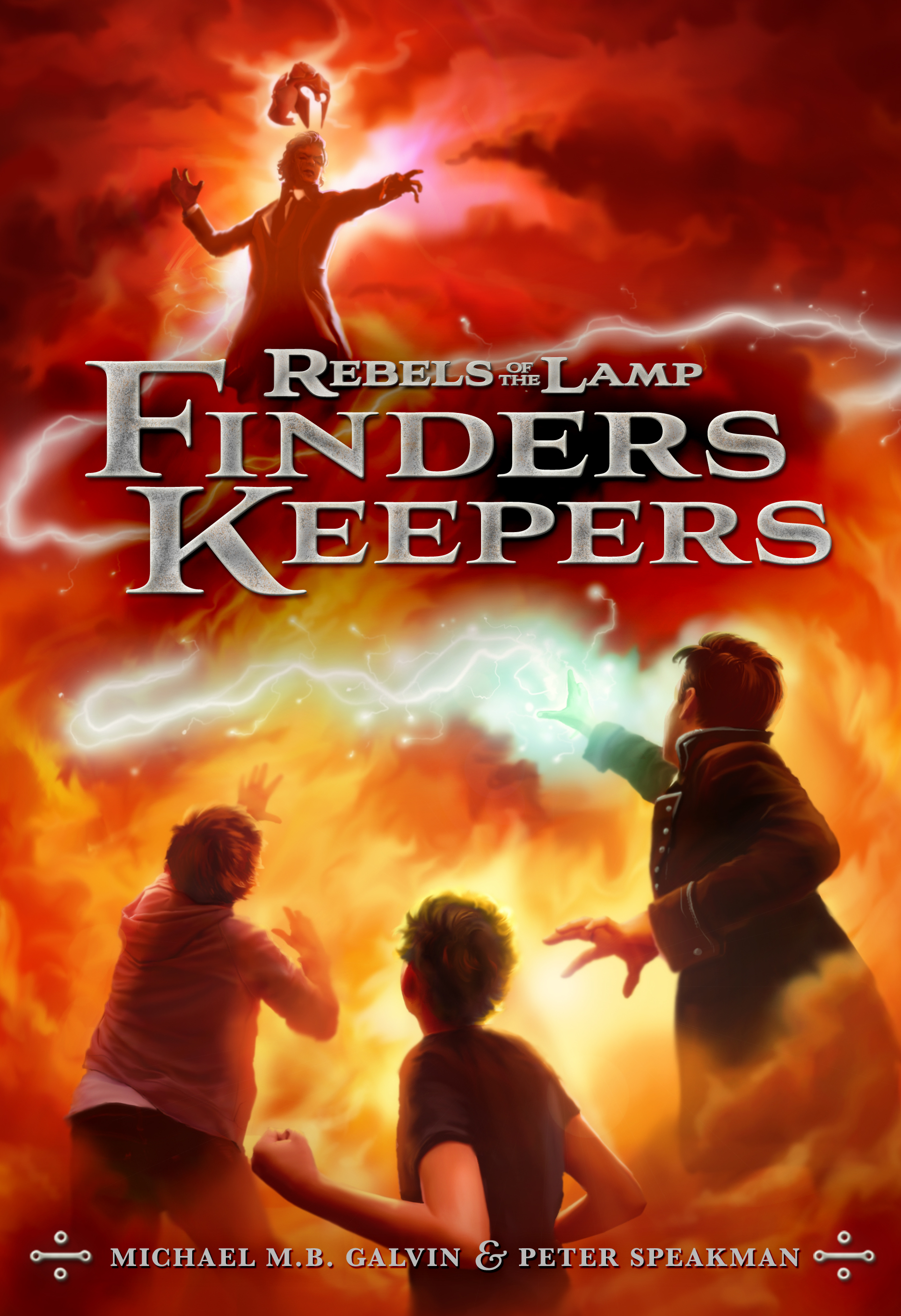 Rebels of the Lamp, Book 2: Finders Keepers