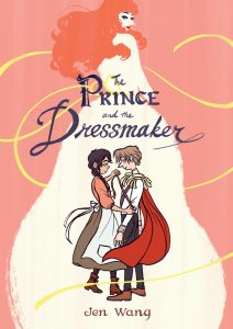 The Prince and the Dressmaker cover