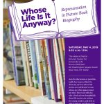 Event: Whose Life Stories Are Being Neglected in Picture Books?