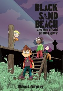 Black Sand Beach: Are You Afraid of the Light