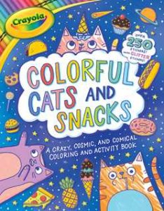 Crayola Coloful Cats and Snacks