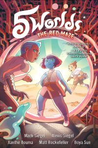 5 Worlds Book 3: The Red Maze
