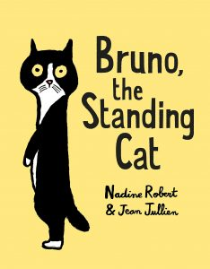 Bruno the Standing Cat