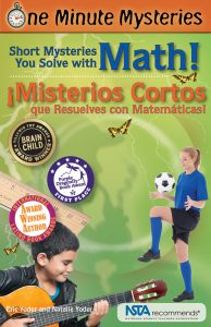 Misterios de un minuto, ¡Misterios cortos que resuelves con matemáticas!