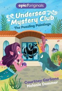 Undersea Mystery Club (Book 3): The Puzzling Paintings