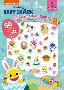 Pinkfong Baby Shark: An Egg-cellent Easter Puffy Sticker and Activity Book