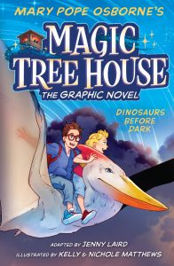 Dinosaurs Before Dark (Magic Treehouse Book 1 The Graphic Novel)