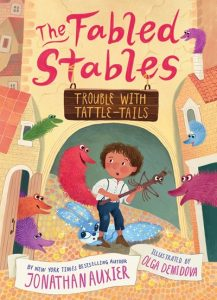 Trouble with Tattle-Tails (The Fabled Stables #2)